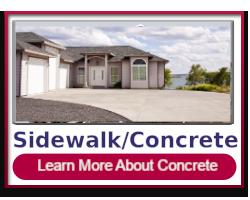 Sidewalk & Concrete